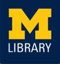 University of Michigan Library logo